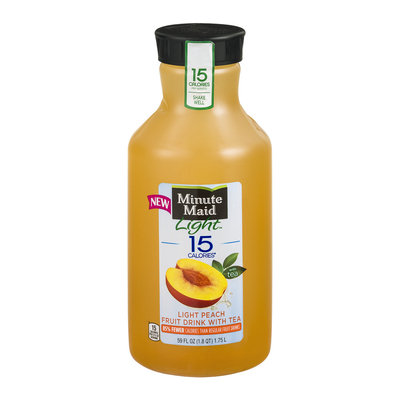 Minute Maid® Light 15 Calories Light Peach Fruit Drink With Tea