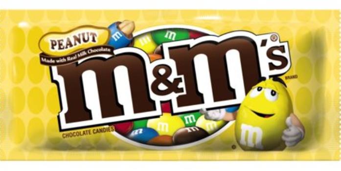 M&M's Chocolate Candies Peanut