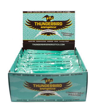 Thunderbird Energetica Bars Cashew Fig Carrot, 15 Pack - Men's