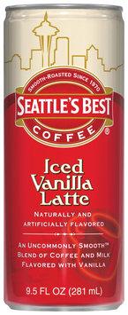 Seattle's Best® Iced Vanilla Latte Coffee Drink 9.5 fl. oz. Can