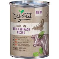 Purina Beyond Grain Free Beef & Spinach Recipe Natural Dog Food 13 oz. Pull-Top Can