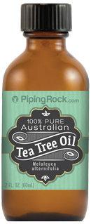 Piping Rock Tea Tree Oil Australian 100% Pure 2 oz Bottle