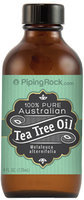 Piping Rock Tea Tree Oil Australian 100% Pure 4 oz