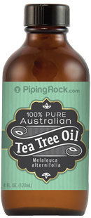 Piping Rock Tea Tree Oil Australian 100% Pure 4 oz