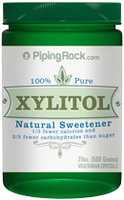 Piping Rock Xylitol 100% Pure Sweetener 20 oz (568 g)