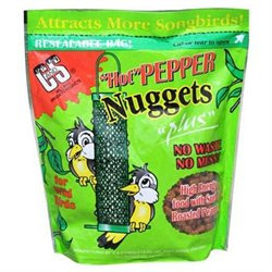 C & S Products Hot Pepper Wild Bird Nuggets