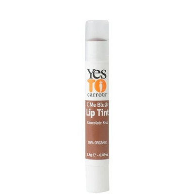 Yes to Carrots C Me Shine All Natural Lip Tint -- Chocolate Kiss