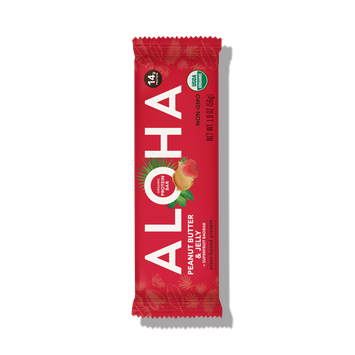 ALOHA Organic Protein Bar Peanut Butter & Jelly