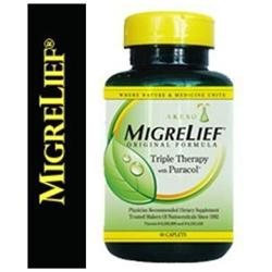 Migrelief Original Formula Dietary Supplement Caplets - 60 Ea