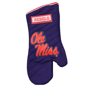 Designcast Specialties NCAA Grill Glove, University of Mississippi Rebels (Ole Miss)