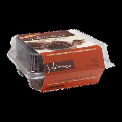 J. Skinner Drury Lane Muffins Chocolate Rush - 4 CT