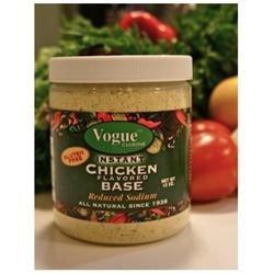 Vogue Cuisine Foods Vogue Cuisine Instant Chicken Base - 12 oz