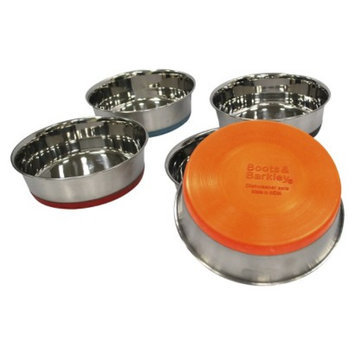 Boots & Barkley Stainless Steel Dog Bowl- Colors May Vary