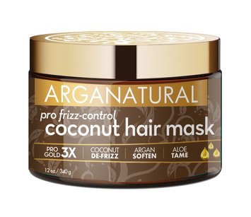 ARGANATURAL Gold Pro Frizz Control Coconut Hair Mask