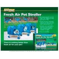 Four Paws Products Fresh Air Pet Stroller Blue