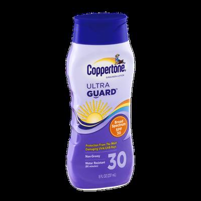 Coppertone Ultra Guard Sunscreen Lotion SPF 30