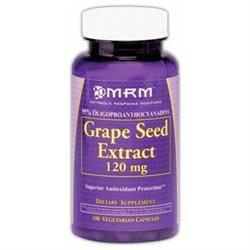 MRM Grape Seed Extract - 120 mg - 100 Vegetarian Capsules