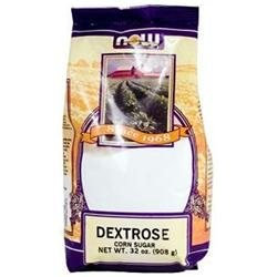 NOW Foods - Dextrose Corn Sugar - 32 oz.