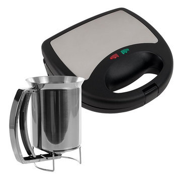 Chef Buddy Panini And Waffle Press Set