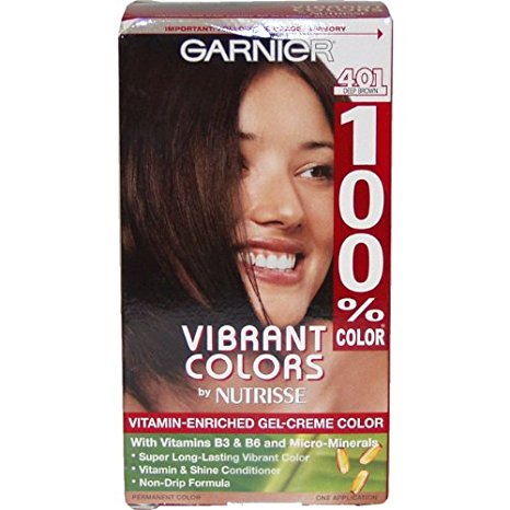Garnier 100% Color Vitamin-Enriched Gel Creme Color