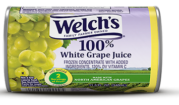 Welch's® 100% White Grape Juice Frozen Concentrate