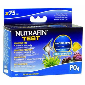 Hagen Nutrafin Phosphate 0.0 to 5.0 Mg/L for Fresh and Saltwater, 75 -Tests
