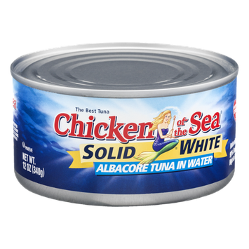Chicken Of The Sea Solid White Albacore Tuna In Water