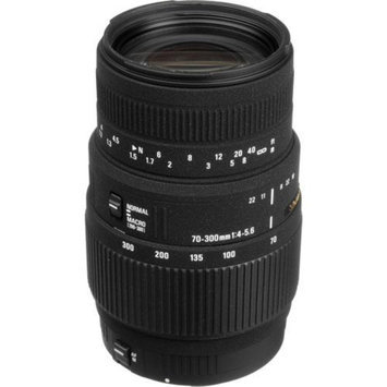 Sigma 70-300mm f/4-5.6 DG Macro Telephoto Zoom Lens for Canon EOS AF USA with De