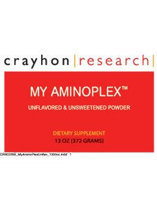 My Aminoplex Unflavored 13 oz by Crayhon Research