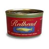 Redhead Wild Alaska Sockeye Salmon Redhead Wild Sockeye Salmon From Alaska, (12) 7.5 Oz. Cans