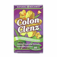 Natural Balance Colon Clenz 60 Vegetable Capsules
