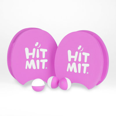 Cam Consumer Products, Inc. Hit Mit Paddle & Ball Set- Pink