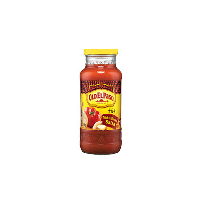 Old El Paso® Hot Thick 'n Chunky Salsa