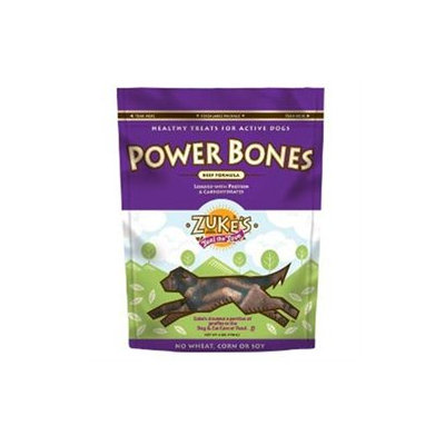 Zukes Performance Pet Zukes 00550 Beef Power Bones Dog Treats