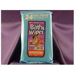 8 IN 1 PET PRODUCTS CEOM7124 Deodorizing Bath Wipes For Cats