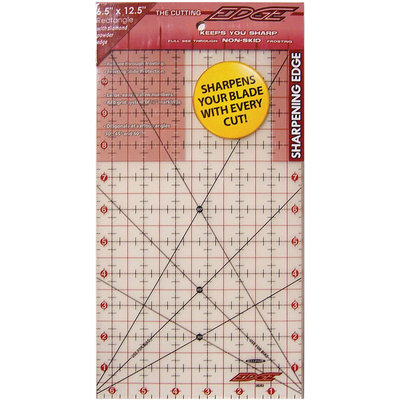 Sullivans International The Cutting Edge Frosted Ruler, 6-1/2