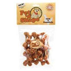 Topdawg Pet Supply Pet N Shape - Petventures DPH10408 Chik n Dumbbells 8oz