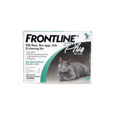 Merial Frontline Plus For Cats - 6 pack