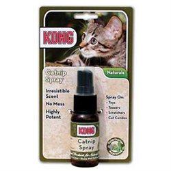 Kong Cat Naturals Catnip Spray - 1 oz
