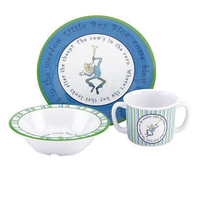 Gorham 3-Pc. Little Boy Blue Dinnerware Set