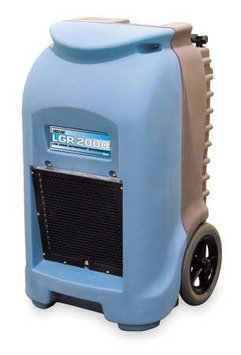 DRI-EAZ F232-GG Low-Grain Dehumidifier,202 pt,115V,60Hz