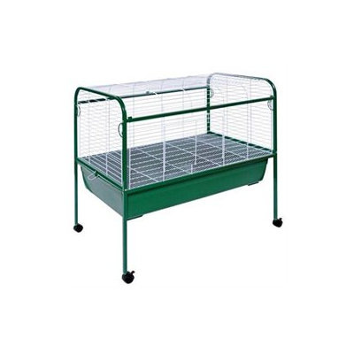 Prevue Hendryx Jumbo Small Animal Cage on Stand with Casters - 40x22x37
