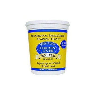 Gimborn DRD401704 Pro-Treat Freeze Dried Chicken Liver 4Oz