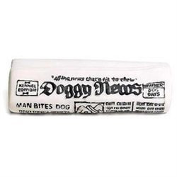 Ethical Dog Ethical Pet Vinyl Newspaper with Squeaker Dog Toy