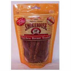 Smokehouse Brand Dog Treat Chicken Tenders 4 Oz Bag
