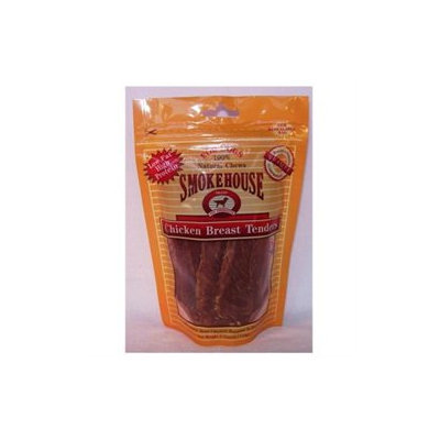 Smokehouse Brand Dog Treat Chicken Tenders 4 Oz Bag
