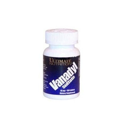 Ultimate Nutrition - Vanadyl Sulfate 10 mg. - 150 Tablets