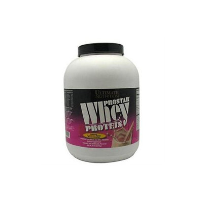 Ultimate Nutrition Prostar 100% Whey Protein - 5 Lbs. - Strawberry