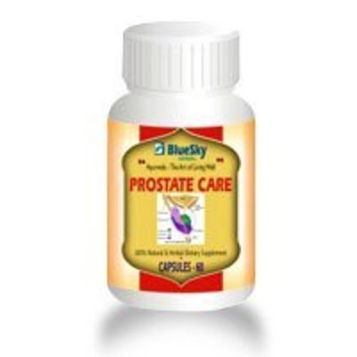 BlueSky Herbals Blue Sky Herbal, Inc Prostate Care, 60 Caps (Pack of 2)