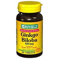 Good 'N Natural - Ginkgo Biloba Extract 60 mg. - 60 Tablets